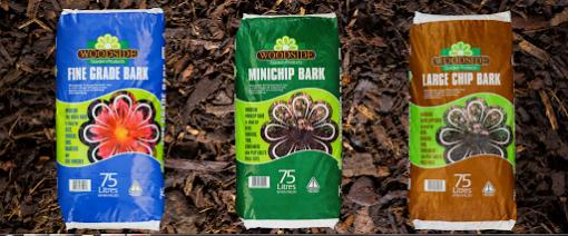 Woodside 3 Grades of Mulch