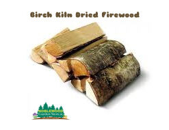 Birch Kiln Dried Firewood