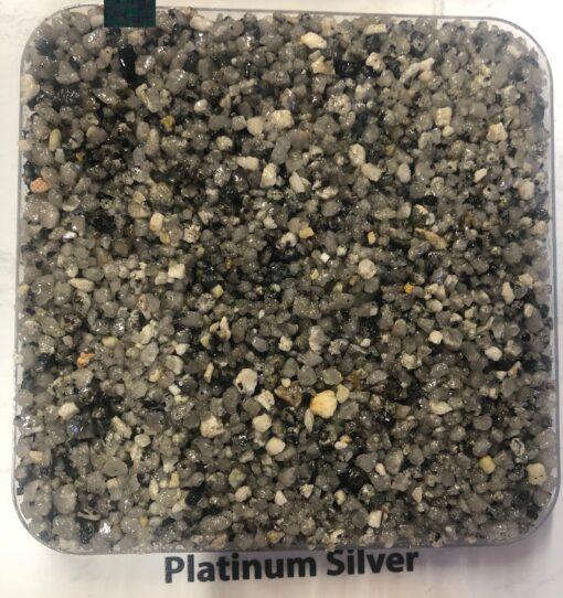 Platinum Sliver Resin